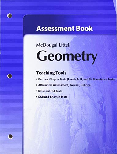 Geometry Assessment Book: MCDOUGAL LITTEL