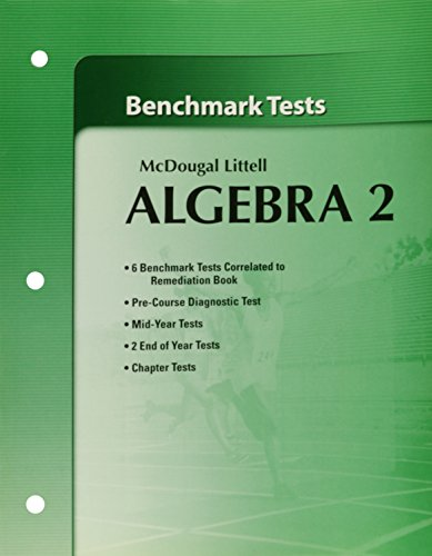 9780618736744: Holt McDougal Larson Algebra 2: Benchmark Tests