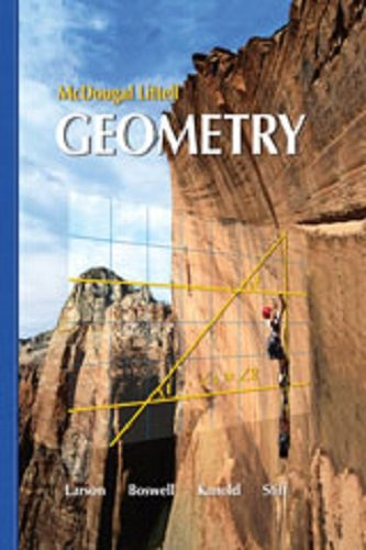 9780618736805: Holt McDougal Larson Geometry: Student Resources in Spanish (Spanish Edition)