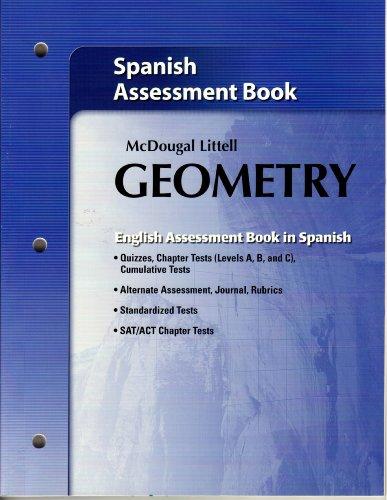 9780618736843: Holt McDougal Larson Geometry: Assessment Book (Spanish Edition)