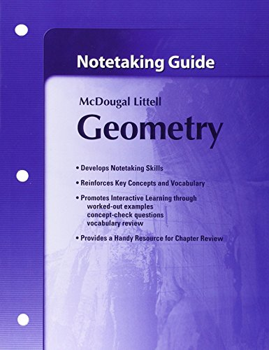 Notetaking Guide Geometry: Larson, Boswell, Kanold,
