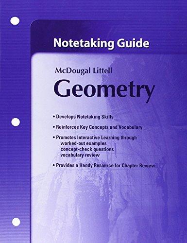 9780618736928: Notetaking Guide Geometry