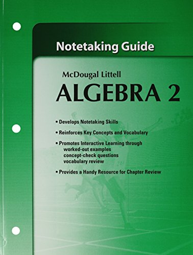 Printables Mcdougal Littell Algebra 2 Worksheet Answers mcdougal littell algebra 2 answers chapter 5 holt by abebooks