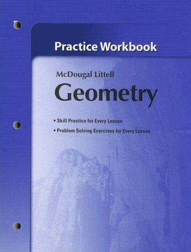 9780618736959: Holt McDougal Larson Geometry: Practice Workbook