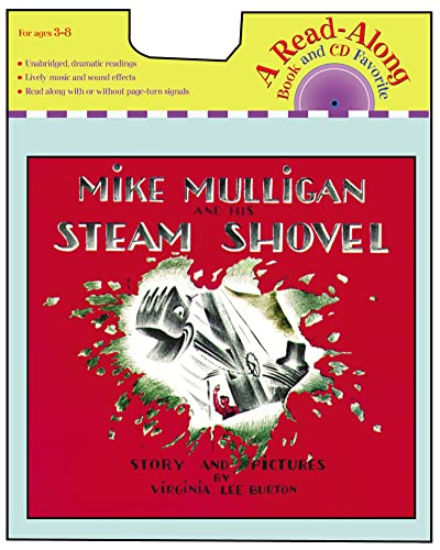 9780618737567: Mike Mulligan and His Steam Shovel (With CD)