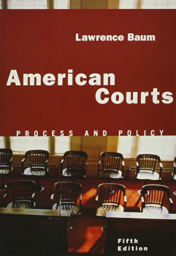 9780618738144: American Courts 5th Edition Plus Chaffee Concise Guide To Thinking Critically