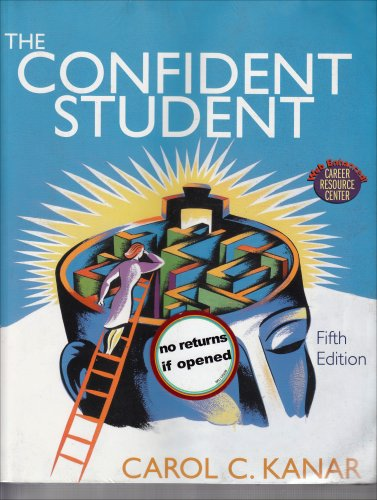 9780618738786: Confident Student 5th Edition Plus Becoming A Master Student Concise Portfolio Webcard 11th Edition