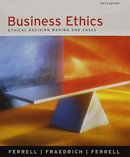 9780618739394: Business Ethics With Webcard 6th Ed + Business Ethics Reader + 15 Week Wallstreet Journal Subscription