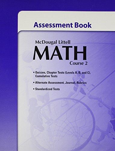 9780618741007: McDougal Littell Math Course 2: Assessment Book