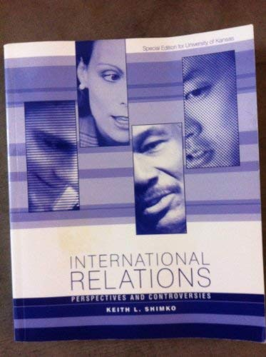 9780618744527: International Relations: Perspectives and Controversies
