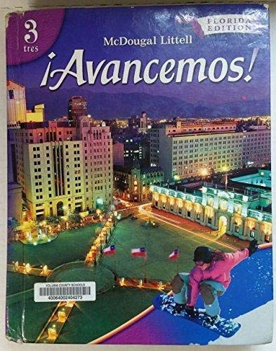 9780618748174: íAvancemos!: Student Edition Level 3 2007 (Spanish Edition)