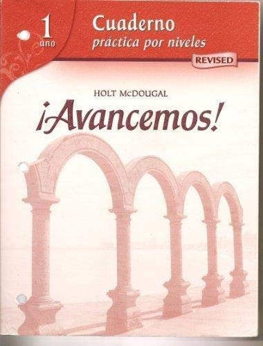 9780618751013: ¡Avancemos!: Cuaderno: Practica por niveles Workbook Teacher's Edition Level 1 (Spanish Edition)