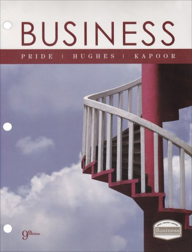 Business Looseleaf Version: Pride, William M.,