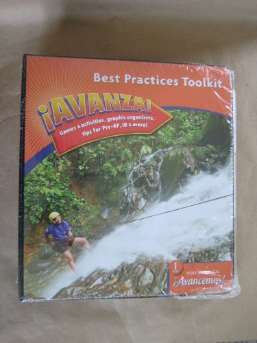 9780618753215: ¡Avancemos!: Best Practices Toolkit Levels 1A/1B/1 (Spanish Edition)