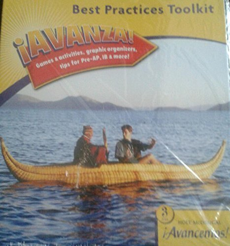 9780618753277: ¡Avancemos!, Level 3: ¡Avanza! Best Practices Toolkit-Games (Spanish Edition)