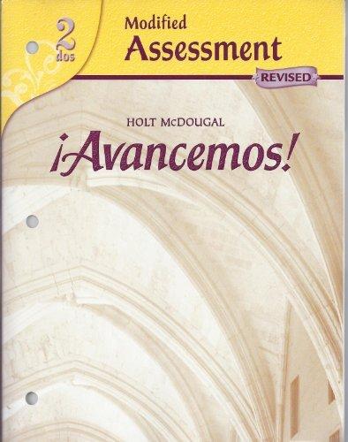 9780618753321: ?Avancemos!: Modified Assessment Level 2