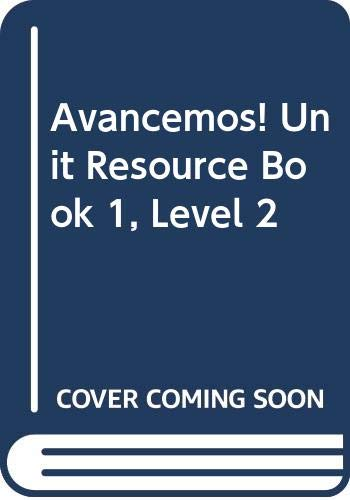 9780618753550: ?Avancemos!: Unit Resource Book 1 Level 2 (Spanish Edition)