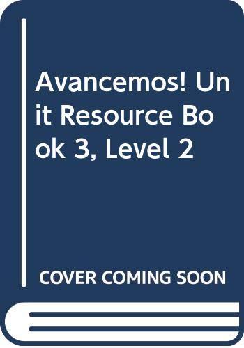 9780618753574: ?Avancemos!: Unit Resource Book 3 Level 2 (Spanish Edition)