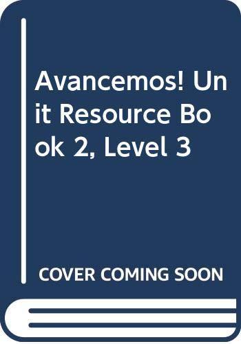 9780618753642: ?Avancemos!: Unit Resource Book 2 Level 3 (Spanish Edition)