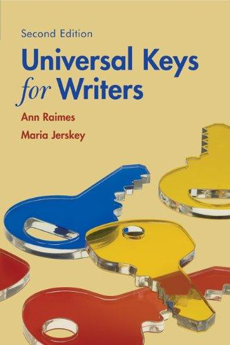9780618753970: Universal Keys for Writers