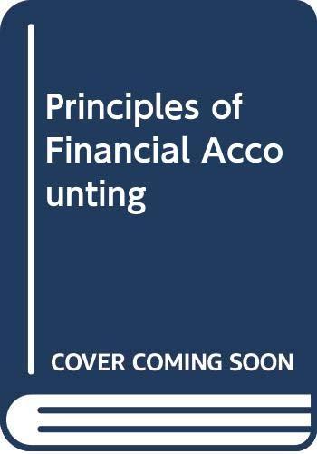 9780618754342: Principles of Financial Accounting