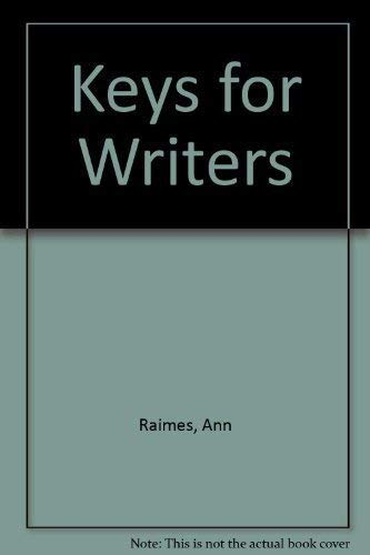 9780618756599: Keys for Writers: Instructor's Copy, 5th Edition