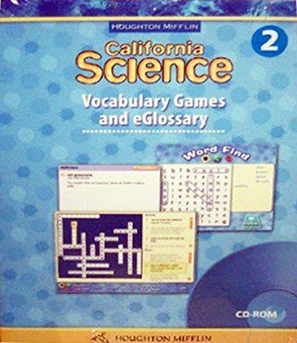 9780618757404: Houghton Mifflin Science California: Vocab Games Eglosry Cd L2