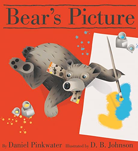 Bear's Picture [First Houghton Mifflin Edition] [Signed]: Pinkwater, Daniel