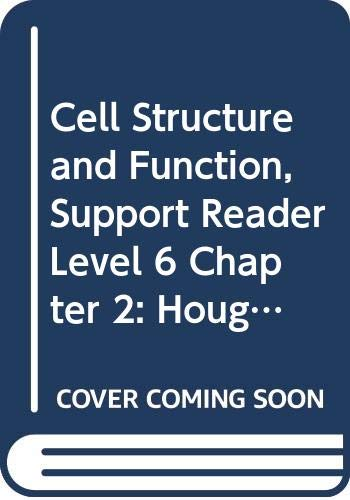 9780618759934: Houghton Mifflin Science: Support Reader Chapter 2 Level 6 Cell Structure And Function