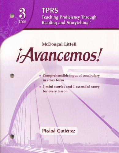 9780618765904: ?Avancemos!: Teaching Proficiency Through Reading and Storytelling Level 3 (Spanish Edition)