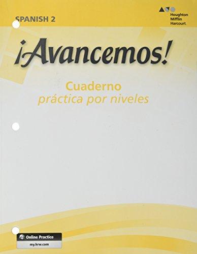 9780618765942: Avancemos: Cuaderno Practica Por Niveles 2, Revised (Spanish Edition)