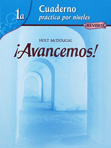 9780618765966: Avancemos!, Cuaderno: Practica por niveles Level 1 A: Mcdougal Littell Íavancemos! (Ml Spanish)