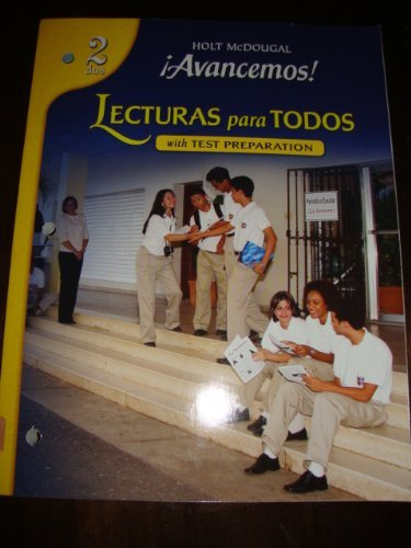 Avancemos! Lecturas Para Todos with test preparation,: McDougal Littell