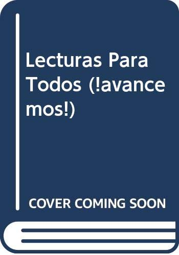 9780618766055: ¡Avancemos!: Lecturas para todos (Student) Level 3 (Spanish Edition)