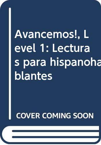 9780618766062: ¡Avancemos!: Lecturas para hispanohablantes (Student) Level 1A/1B/1 (Spanish Edition)