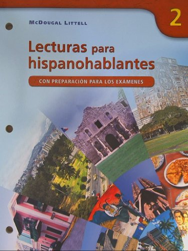 Avancemos!: Lecturas para hispanohablantes (Student) Level 2: LITTEL, MCDOUGAL