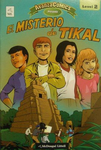 9780618766338: El Misterio de Tikal (AvanzaComics, Level 2)