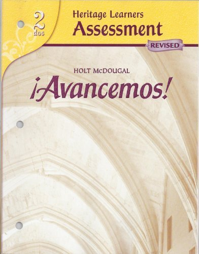 9780618766352: ?Avancemos!: Heritage Learners Assessment Level 2 (Spanish Edition)