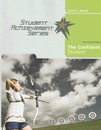 9780618766437: Student Achievement Series: The Confident Student