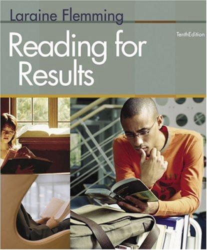 Reading for Results: Flemming, Laraine E.