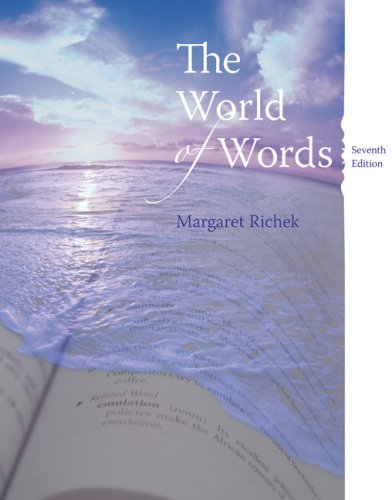 9780618766789: The World of Words: Vocabulary for College Success