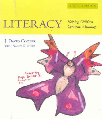 9780618768820: Literacy: Helping Children Construct Meaning