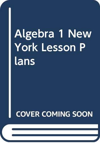 9780618768844: Holt McDougal Larson Algebra 1 New York: Lesson Plans Algebra 1