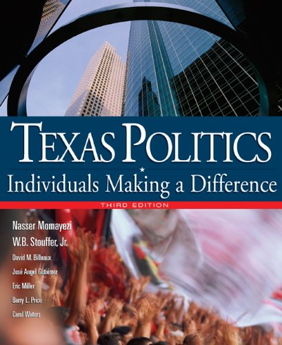 9780618770199: Texas Politics: Individuals Making a Difference