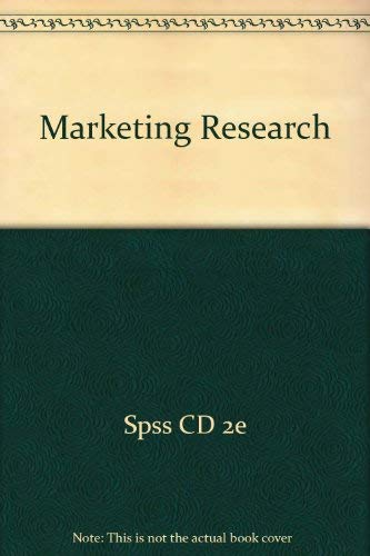 9780618771646: Marketing Research Plus Spss Cd 2nd Edition
