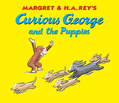 9780618772414: Curious George and the Puppies Lap Edition