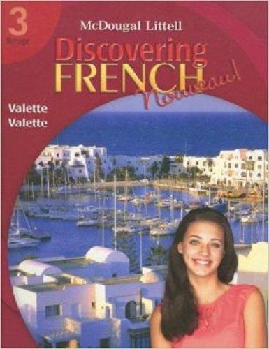 Discovering French Nouveau Florida: Lectures pour tous with Audio CD Level 3: LITTEL, MCDOUGAL