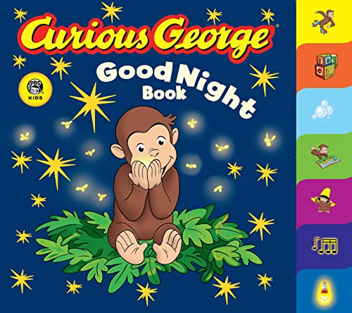 9780618777112: Curious George Good Night Book