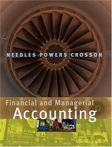 9780618777174: Financial And Managerial Accounting