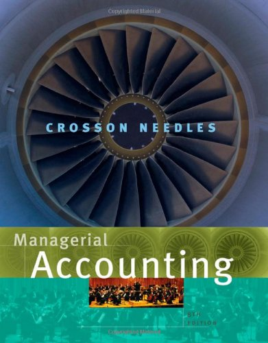 9780618777181: Managerial Accounting, 8th Edition